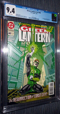 Green Lantern #48 CGC 9.4 White Pages 1st appearance Kyle Rayner!
