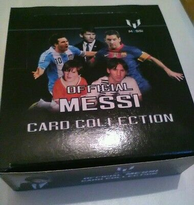 Official Messi 100+ Card Collection