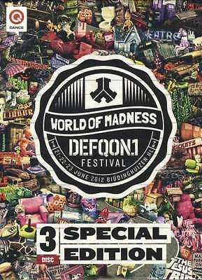 Defqon 1 Festival 2012 Special Edition NEU BD DVD CD World Of Madness Hardstyle