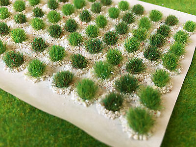 Textured Tufts -Serious-Play- Model Scenery Wargames Static Grass Railway mixed