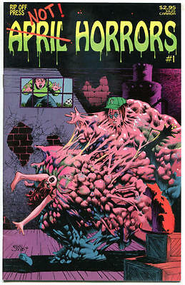 APRIL HORRORS #1, VF+, Mike Hoffman, Kelley Jones, 1992, more indies in store