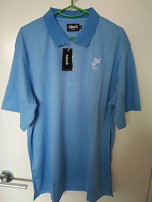 Sky Blue Premium Usa Cotton Logo Shirt - Size(Us) Small