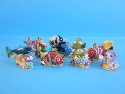 Fantastic 12 Miniature Porcelain, The Finding Nemo Collection Set Figurine, Dory
