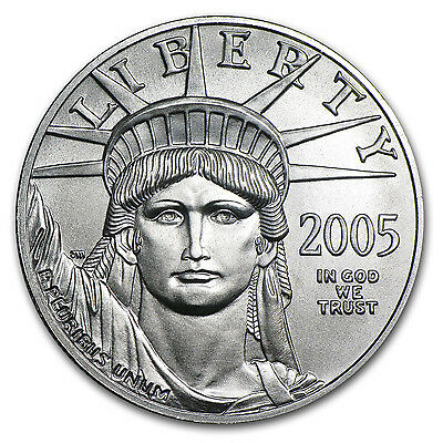 2005 1 oz Platinum American Eagle BU - SKU #4244