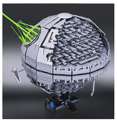 DEATH STAR II Compatible Lego Star Wars 10143 - DHL Delivery -No Box -