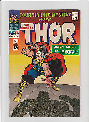 Journey into Mystery (Thor)  #125 VF- Silver Age (1966) Comic Book