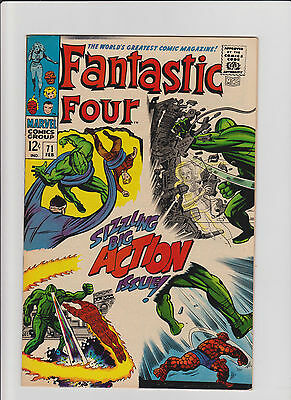 Fantastic Four #71 VF- Silver Age (1968) Comic Book