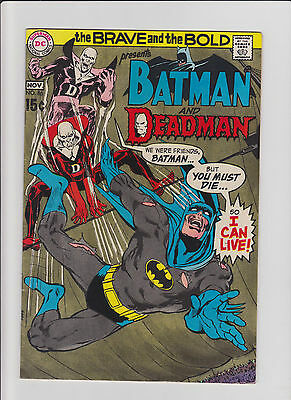Brave and the Bold #86 VF Silver Age (1969) Neil Adams Comic Book - Deadman