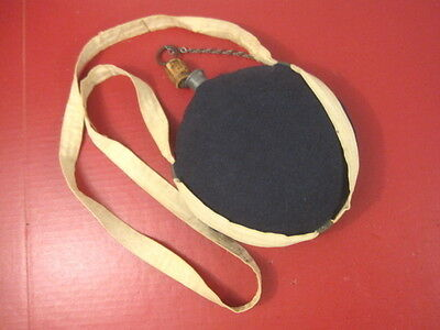 Civil War US Pattern 1858 Canteen Smooth Side Style w/Cover & Sling - 6th NH Inf
