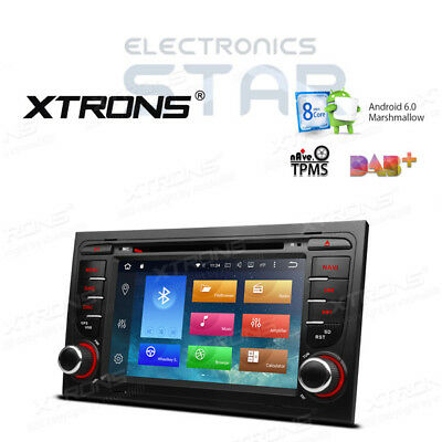 In Dash Audi A4 S4 RS4 8-Core Android 6.0 Car GPS Sat Nav Stereo DVD Player DAB+
