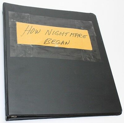 How the Nightmare on Elm Street All Began * Movie Screen Treatment by John Saxon