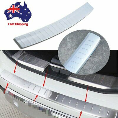 Stainless Steel Rear Bumper Sill Plate Guards Trim For Nissan X-Trail 2014-2016