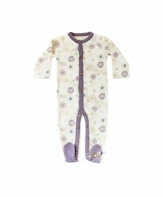 FINN + EMMA Coverall -Organic One Suit Brand New in Bag Flower Design 6-9 Months