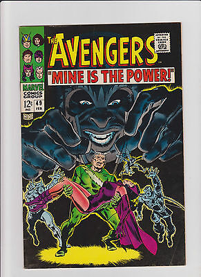 Avengers #49 FN/VF Silver Age (1968) Comic Book