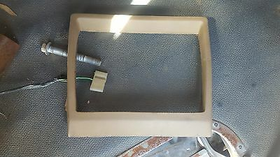 Holden Commodore VB VC VH VK Radio Fan Switch Surround (Dash Section)