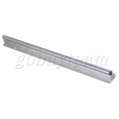 Silver Aluminum & Steel SBR12 Linear Bearing Rail L400mm for CNC Machine