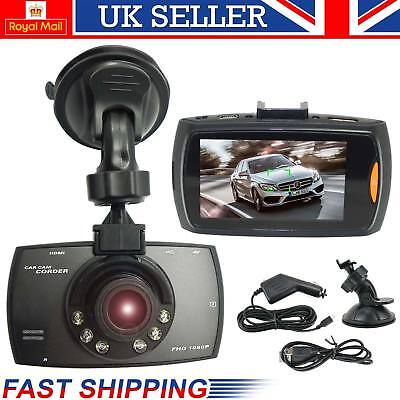 UK Latest 1080P HD 2.7″ LCD Car DVR Camera Dash Cam Video Recorder Night Vision