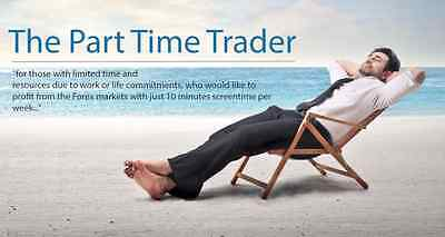 The Part Time Trader - Forex Trading Course and EA rrp. $249