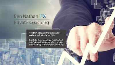 121 Private Forex Coaching Package from BenNathanFX RRP $10,000