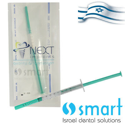 Dental Implant Sterile bone collagen bone Gel NN-BONEGEL Next Israel 0.5 cm³