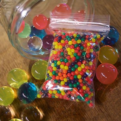 1000 Orbeez Water Beads 1.5-2cm for Play, Vases etc, Best Quality