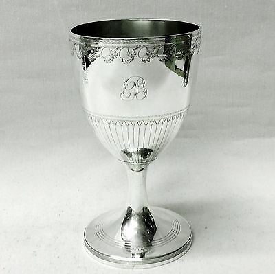 Antique George III Silver Goblet London 1798. Stock ID 8742