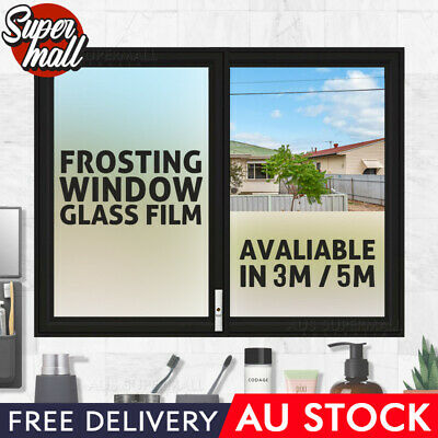 90cm x 5m Home Rice Paper Privacy Frosted Frosting Removable Window Glass Film
