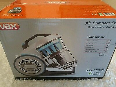 Vax C88-AM-PE Air Compact Pet Cylinder Vacuum Cleaner Hoover Brand New RRP £199
