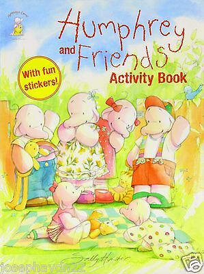NEW - HUMPHREY and Friends ACTIVITY BOOK with STICKERS  HUMPHREYS CORNER Igloo