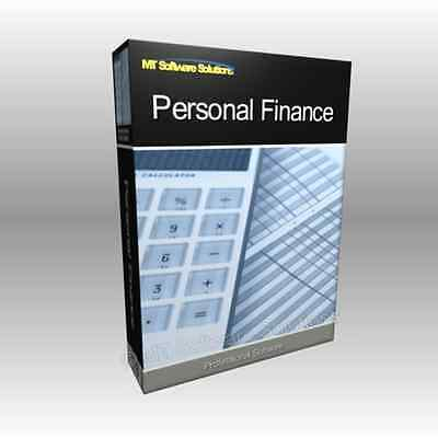 Accounting Personal Finance Budget Software for Home Users & Small Business
