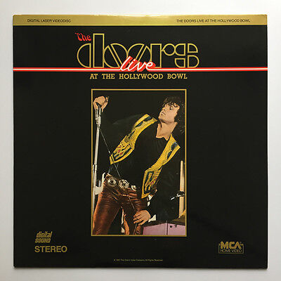 Laserdisc The Doors: Live at the Hollywood Bowl '68