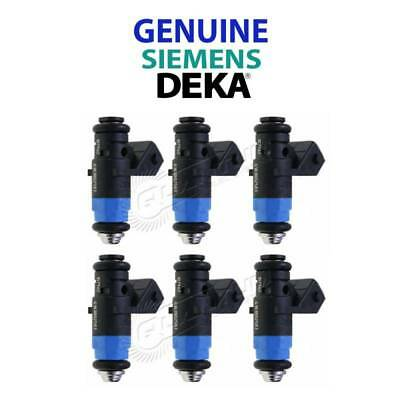 NEW GENUINE Siemens Deka 630CC 60lb Injectors SHORT FI114962 107-962  (6)