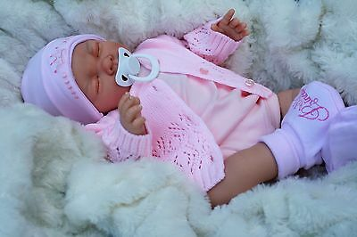 Butterfly Babies Stunning Reborn Baby Girl Sofia  Princess Hat Dummy