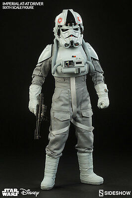 Star Wars - Imperial  At At Driver 1/6 Actionfigur Sideshow No Hot Toys