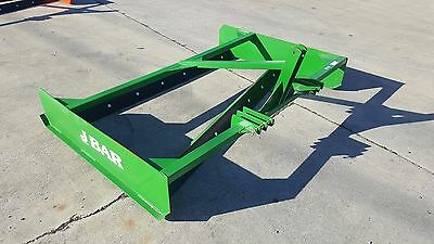"7' ( 84"" ) J Bar Land Plane / Road Grader -Made In The Usa-  Green Or Orange"