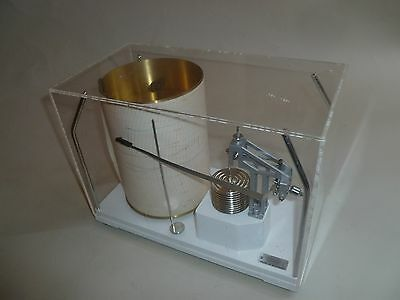 Cassella Micro Barograph with key and Gluck Movement