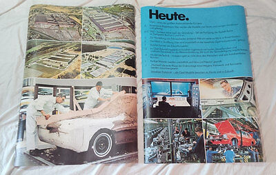 Vintage OPEL Advertising Posters - 7 LARGE POSTERS! - RARE!!!