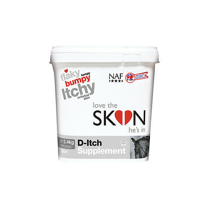 naf love the skin he's in d-itch supplement  fly, louse & insect control 2 sizes