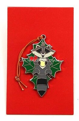 Disney Parks Limited Release Woodland Winter Ornament Mystery Set Pin - Meeko