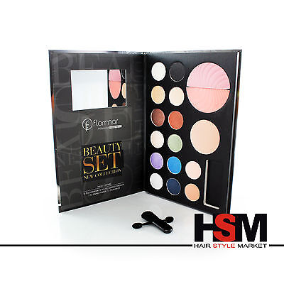 Flormar Beauty Set New Collection Make Up Trousse Trucco Viso Fard Ombretto