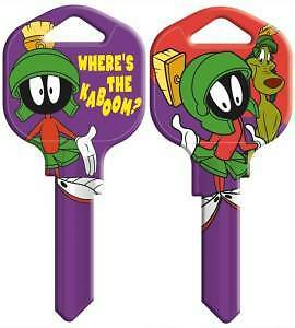 MARVIN the MARTIAN House Key Blank LOONEY TUNES SCHLAGE SC-1