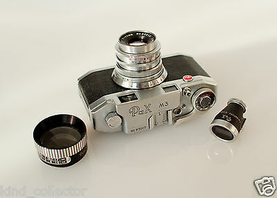 YAMATO PAX M3 RANGEFINDER CAMERA in BOX WITH ACCESSORIES RARE COLLECTORS ITEM