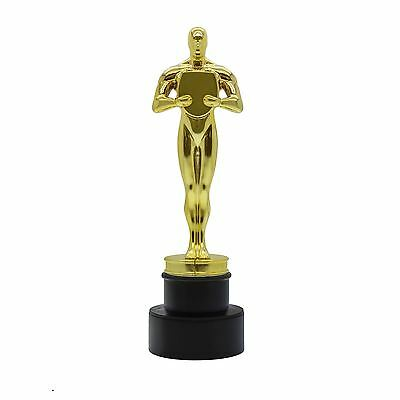 The Toilet Award Gold Statue Cleaning Brush and Holder