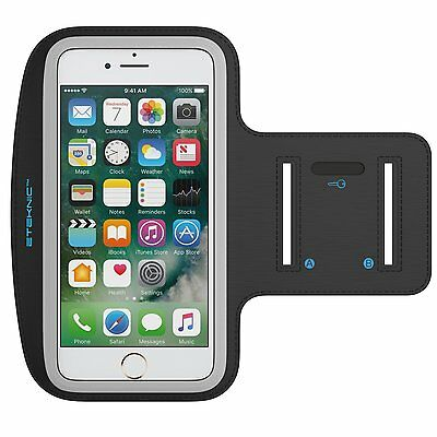 eTEKNIC Sports Running Jogging Gym Armband Arm Band Case For iPhone 6 / 7 Plus