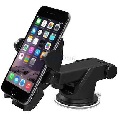 New 360°Car Holder Windshield Mount Bracket for Cell Phone GPS iPhone Samsung