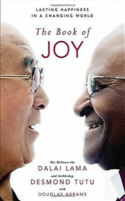 The Book Of Joy Dalai Lama Desmond Tutu NEW Hardback Book Buddhism Philosophy