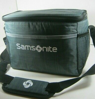 Samsonite Insulated Lunch Box Or Cooler Bag Black Red Multiple New NWT