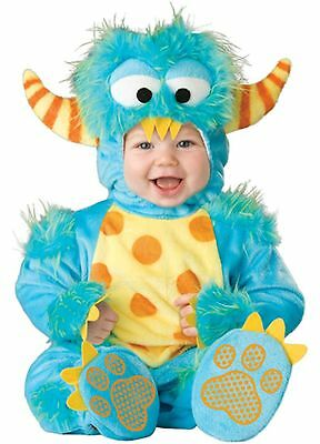 Carnevale Costume Incharacter Lil' Monster Top Quality Deluxe Bambino 6/12 Mesi