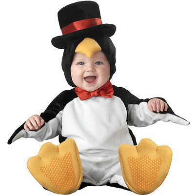 Carnevale Costume Incharacter Lil' Pinguino Top Quality Deluxe Bambino 6/12 Mesi