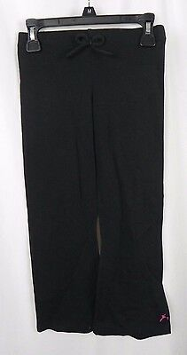 NEW Girl's Capezio Future Star Black Yoga Warm Up Dance Pants (S1-60)